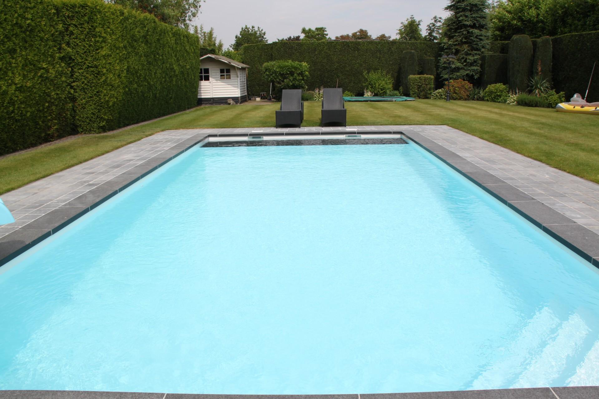 Zwembaden for Opbouw zwembaden